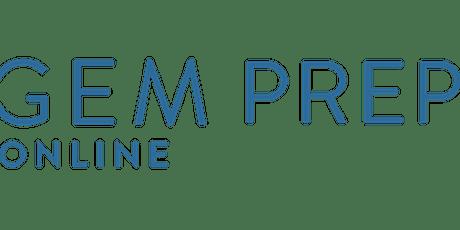 Gem Prep: Online Virtual Information Session (K-12) tickets