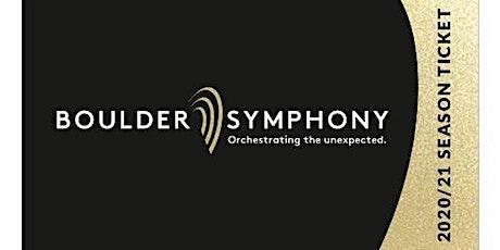 Boulder Symphony Season Subscription 2020/2021 tickets