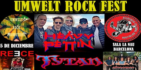 Umwelt Rock Fest:   Heavy Pettin + Tytan + David Reece + Streamer tickets