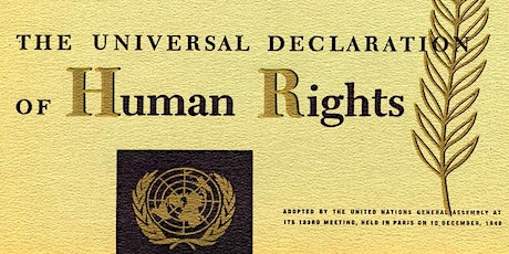 Human Rights – a Legacy of the Holocaust tickets