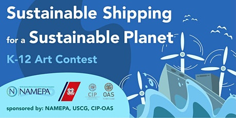 """K-12 Student Art Contest: Sustainable Shipping for a Sustainable Future"""" tickets"""