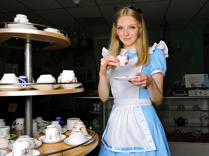 Lunch with Alice in Wonderland image