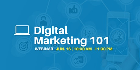Digital Marketing 101 - Webinar tickets