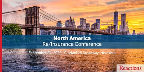 Reactions North America Re/Insurance Conference tickets