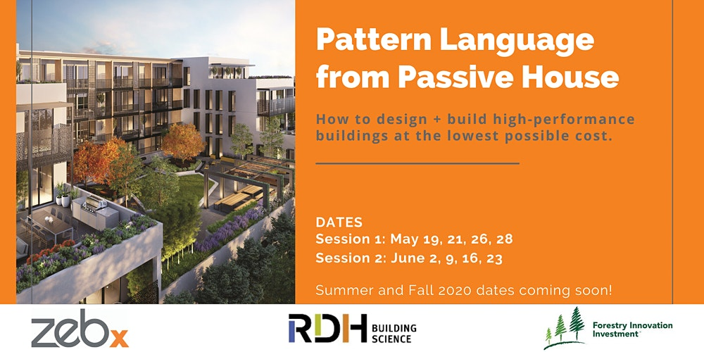 Pattern Language from Passive House - May Course