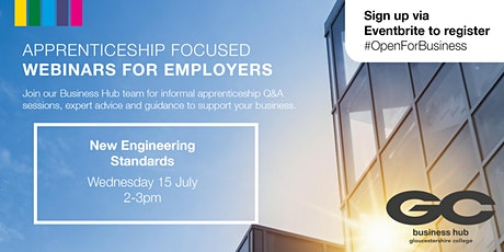 Open for Business: New Engineering Apprenticeship Standards Webinar tickets