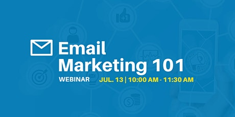 Email Marketing 101 - Webinar tickets