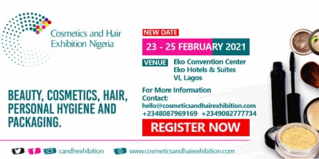 Cosmetics and Hair Exhibition Nigeria tickets