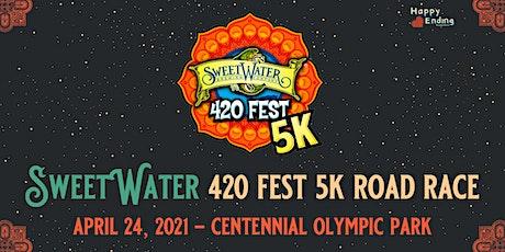 SweetWater 420 Fest 5K 2021 - Road Race tickets