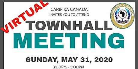 Carifika Canada Town Hall May 31 2020 tickets