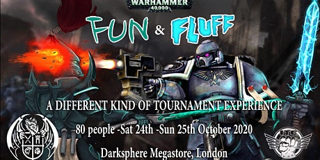 Fun'n'Fluff October 2020 - A Warhammer 40K Tournament Experience tickets