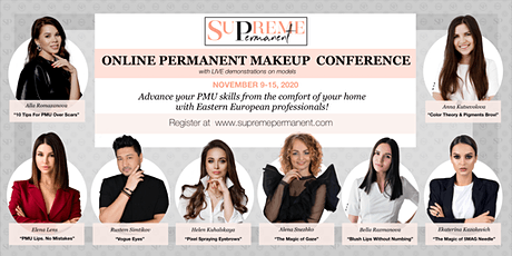 Online Permanent MakeUp Conference 2020 tickets