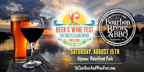 St. Clair Waterfront Beer, Wine, Cocktail Fest & Bourbon, Brews N BBQ 2020 tickets