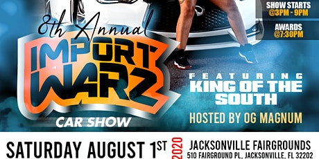 8TH ANNUAL KING OF THE SOUTH FT IMPORT WARZ tickets