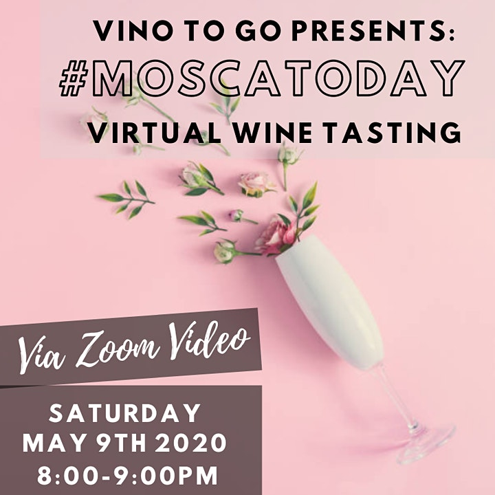 Join us for #MoscatoDay - Virtual Tasting image