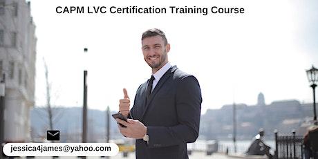 CAPM LVC Certification Training in Camarillo, CA tickets