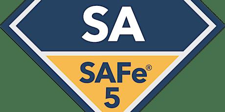 SAFe 5.0 with SAFe Agilist Certification Edinburgh(Weekend)- Scaled Agile Certification Online Training tickets