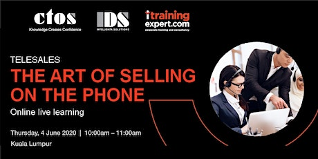 The Art of Selling On The Phone tickets