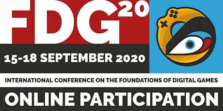 2020 International Conference on the Foundations of Digital Games (FDG2020) tickets