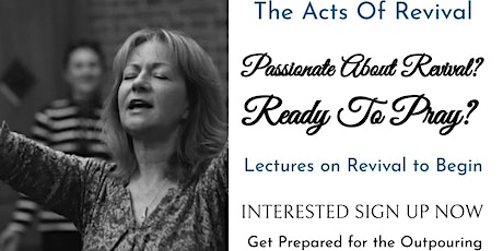 ACTS OF REVIVAL LECTURE tickets