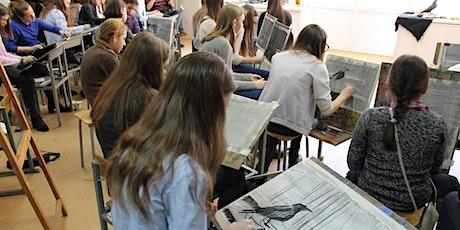 Бесплатный открытый урок по рисованию в нашем центре на Васильевском tickets