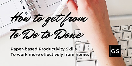 Growth Sessions - How To Get From ToDo to Done (BUJO Productivity) tickets