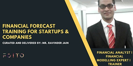 [Online] Financial Forecasting Training for Companies and Startups tickets