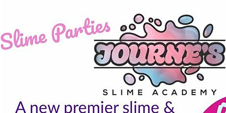 Journe's Slime Academy Online Slime Class with bonus edible slime tickets