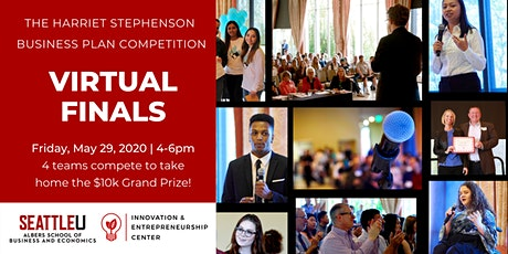 The Harriet Stephenson Business Plan Competition Finalist Pitches tickets
