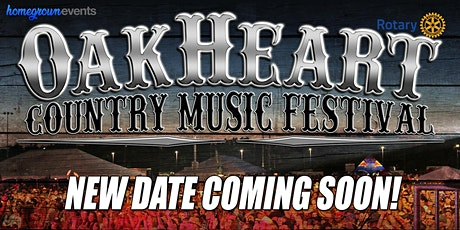 The 2020 OakHeart Country Music Festival tickets