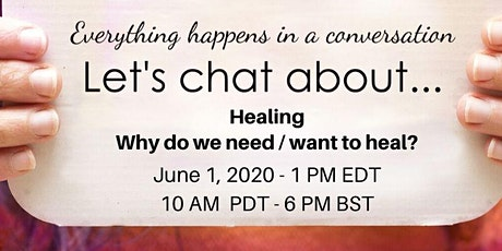 Let's Chat about Healing - Introduction tickets