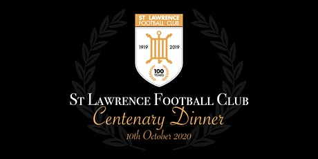 St Lawrence FC Centenary Dinner tickets
