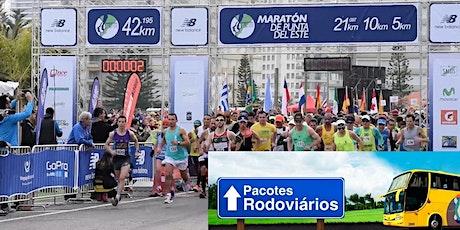 Maratona de Punta del Este 2021 - Pacote Rodoviário (saindo de Porto Alegre) entradas