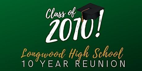 Longwood High School REUN10N tickets