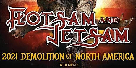 Flotsam and Jetsam with Rebel Priest, Hexripper tickets
