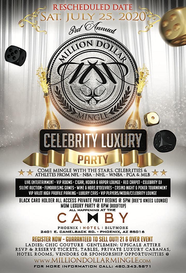 3rd Annual Million Dollar Mingle Celebrity Luxury Party image
