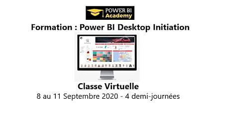 Power BI Initiation - 2 jours - 8 au 11 Septembre 2020 billets