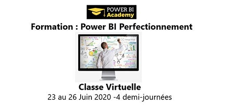 Power BI Perfectionnement - 2 jours - 23 au 26 Juin 2020 billets