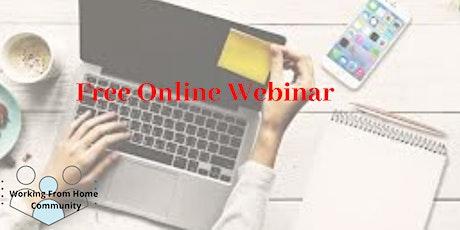 [Free Online Webinar]Start Your Plan B E-Commerce Business Online tickets
