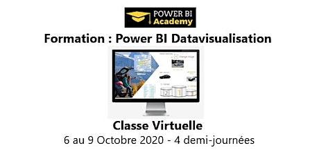 Power BI Datavisualisation - 2 jours - 6 au 9 Octobre 2020 billets