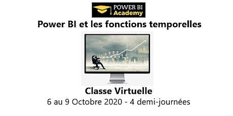 Power BI et les fonctions temporelles - 2 jours - 6 au 9 Octobre 2020 billets