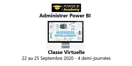 Power BI Admin - 2 jours - 22 au 25 Septembre 2020 billets