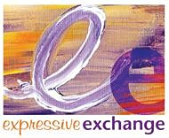 Expressive Exchange workshops by Debbie Lockie logo