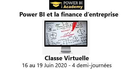 Power BI et la finance d'entreprise - 2 jours - 16 au 19 Juin 2020 billets