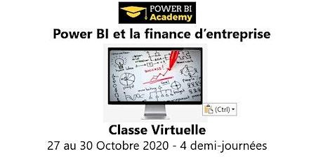 Power BI et la finance d'entreprise - 2 jours - 27 au 30 Octobre 2020 billets