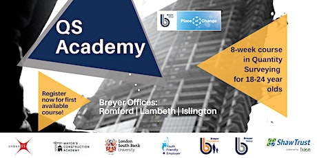 QS Academy: PAID work experience for 18-24 yr olds - ROMFORD tickets