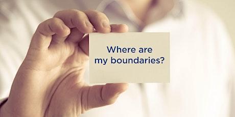 Ann McMaster |Online Event | Boundaries workshop | 25 July tickets