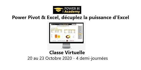 Avec Power Query, Power Pivot & Excel, décuplez la puissance d'Excel  - 2 jours - 20 au 23 Octobre 2020 billets