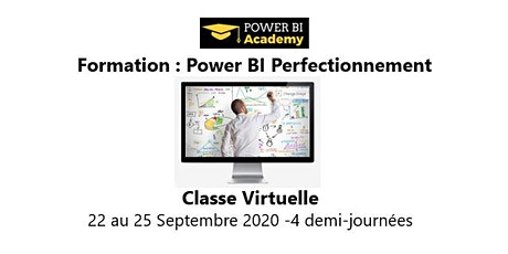 Power BI Perfectionnement - 2 jours - 22 au 25 Septembre 2020 billets