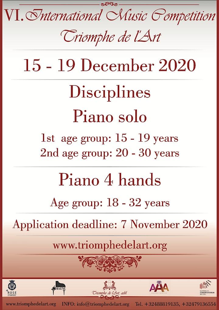 Image pour Piano : Concert de clôture (gala) du VI. Concours International de Musique
